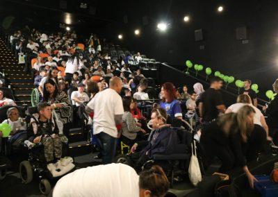 Encontro no Cinema para Assistir o filme Laços Turma da Mônica e Distribuir a 3ª Edição do Gibi Turma da Mônica Cada Passo Importa - ABDIM